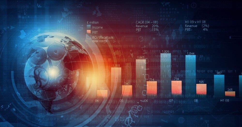 financial-charts-stock-image